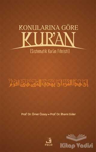 Fecr Yayınları - Özel Ürün - Konularına Göre Kur'an