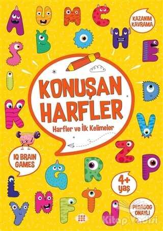 Dokuz Yayınları - Konuşan Harfler (4+ Yaş)