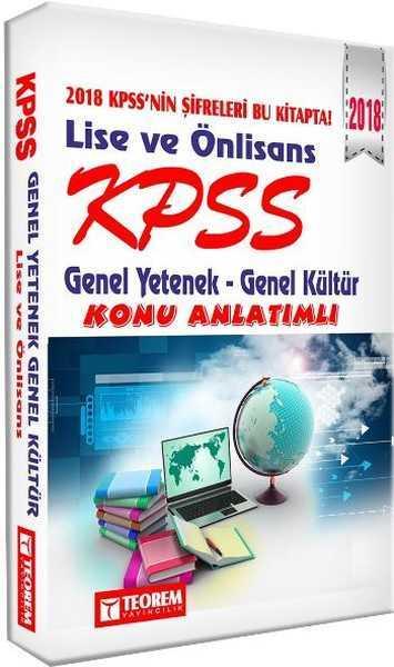 Teorem Yayınları - KPSS 2016 GY-GK LİSE ÖNLİSANS KONU / teorem yay