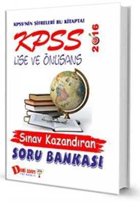 Dahi Adam Yayıncılık - KPSS 2016 LİSE ÖNLİSANS SINAV KAZANDIRAN SORU / Dahi adam yay