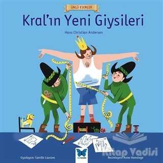 Mavi Kelebek Yayınları - Kral'ın Yeni Giysileri - Ünlü Eserler Serisi