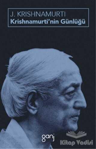 Ganj Kitap - Krishnamurti'nin Günlüğü