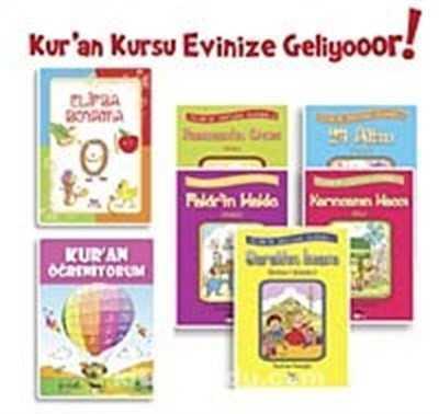 Nesil Çocuk Yayınları - Kur'an Kursu Boyama Seti (4 Kitap)