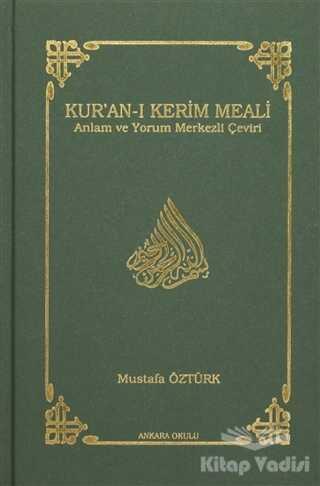 Ankara Okulu Yayınları - Kur'an-ı Kerim Meali (Hafız Boy)