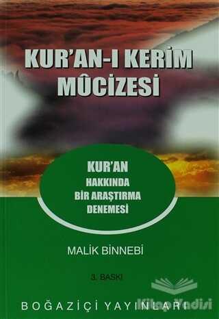 Boğaziçi Yayınları - Kur'an-ı Kerim Mucizesi