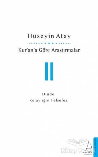 Destek Yayınları - Kur'an'a Göre Araştırmalar 2
