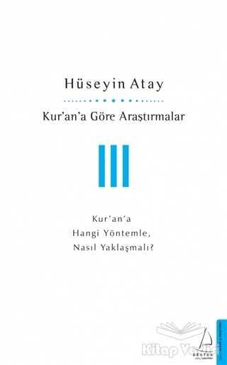 Destek Yayınları - Kur'an'a Göre Araştırmalar 3