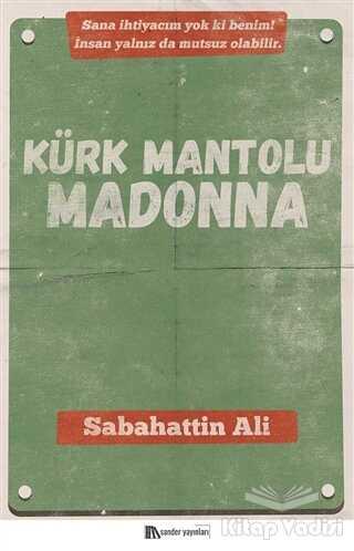 Sander Yayınları - Kürk Mantolu Madonna