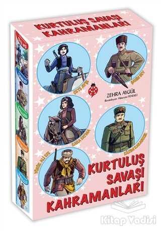 Uğurböceği Yayınları - Kurtuluş Savaşı Kahramanlari Seti (5 Kitap Takım)