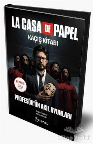 Teras Kitap - La Case De Papel Kaçış Kitabı - Profesör'ün Akıl Oyunları (Ciltli) (Maske Hediyeli)
