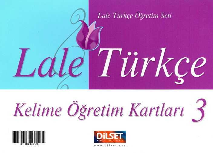 Dilset Lale Türkçe Eğitim - Lale Türkçe - 3 Kelime Öğretim Kartları