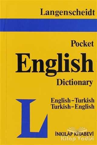 İnkılap Kitabevi - Langenscheidt Pocket English Dictionary English-Turkish / Turkish-English