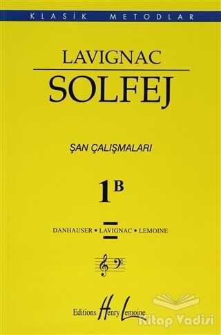 Porte Müzik Eğitim Merkezi - Lavignac Solfej 1B (Büyük Boy)
