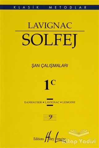 Porte Müzik Eğitim Merkezi - Lavignac Solfej 1C - Küçük Boy
