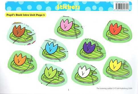 Selt PUBLISHING - Learning Ladder -2 Stickers(second edition)
