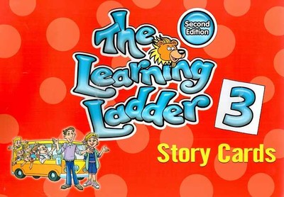 SELT PUPLISHING - Learning Ladder -3 A flip book of 76 story cards in A4 format (second edition)