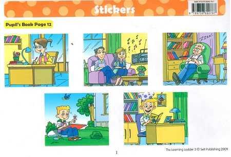 Selt PUBLISHING - Learning Ladder 3 Stickers