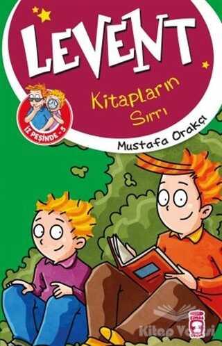 Timaş Çocuk - Levent Kitapların Sırrı / Levent İz Peşinde 5