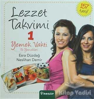 İnkılap Kitabevi - Lezzet Takvimi 1 - Yemek Vakti - Et Yemekleri