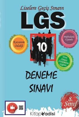 Kitap Vadisi Yayınları - LGS 10 Deneme Sınavı