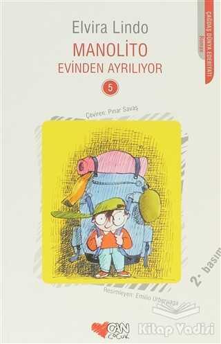 Can Çocuk Yayınları - Manolito Evinden Ayrılıyor