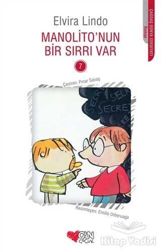 Can Çocuk Yayınları - Manolito'nun Bir Sırrı Var