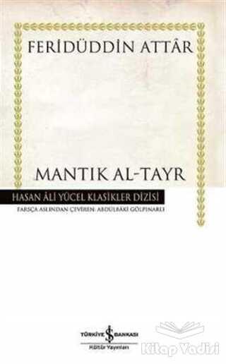 İş Bankası Kültür Yayınları - Mantık Al-Tayr (Ciltli)