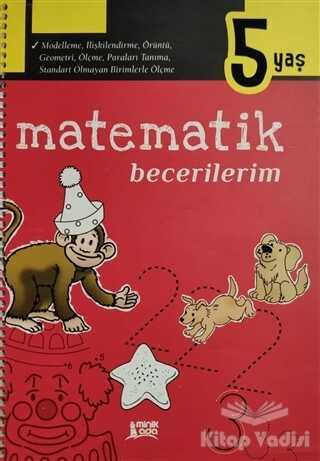 Minik Ada - Eğitim Kitapları - Matematik Becerilerim 5 Yaş
