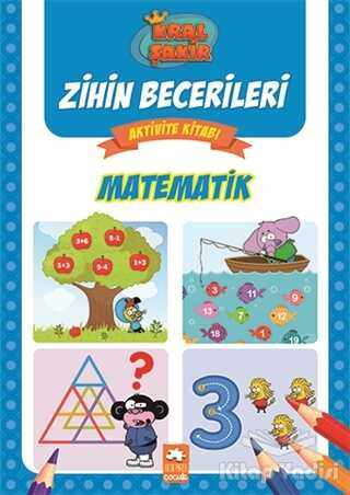 Eksik Parça Yayınları - Matematik - Kral Şakir Zihin Becerileri Aktivite Kitabı