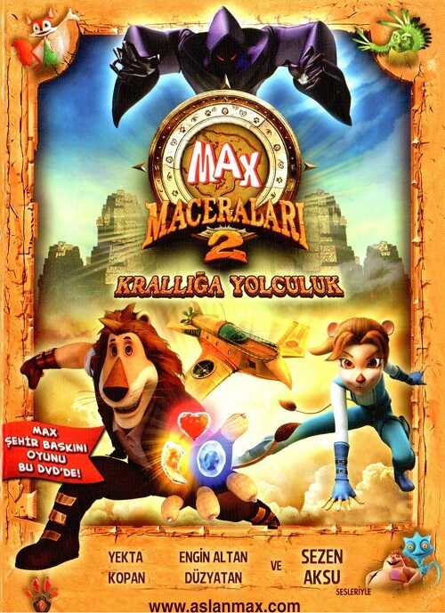 Tiglon - Max Maceraları 2 Krallığa Yolculuk