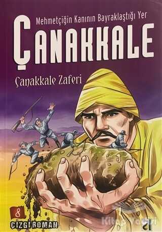 Damla Yayınevi - Özel Ürün - Mehmetçiğin Kanının Bayraklaştığı Yer Çanakkale (8 Kitap Takım)