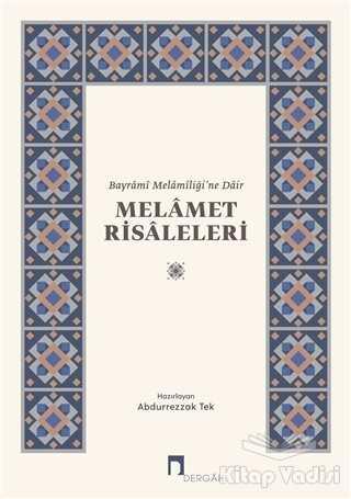 Dergah Yayınları - Melamet Risaleleri