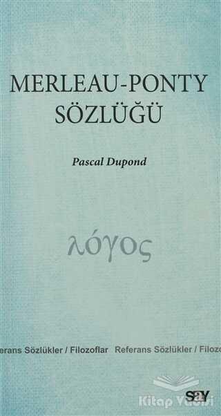 Say Yayınları - Merleau - Ponty Sözlüğü