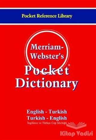 Bilge Kültür Sanat - Merriam - Webster's Pocket Dictionary / English - Turkish / Turkish - English