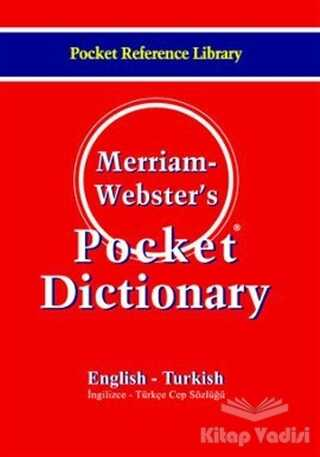 Bilge Kültür Sanat - Merriam Webster's Pocket Dictionary English - Turkish / Cep Sözlüğü