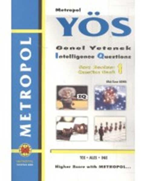 Metropol Yayınları - Metropol YÖS IQ Soru Bankası 1