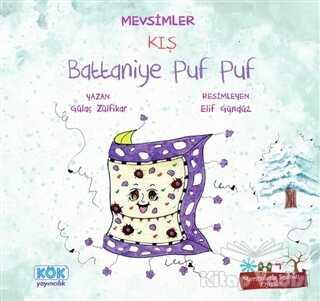 Kök Yayıncılık - Mevsimler Kış - Battaniye Puf Puf