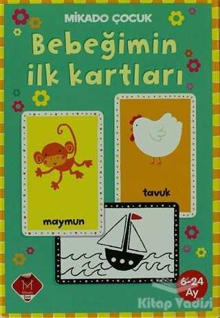 Mikado Yayınları - Mikado Çocuk - Bebeğimin İlk Kartları (6-24 Ay)
