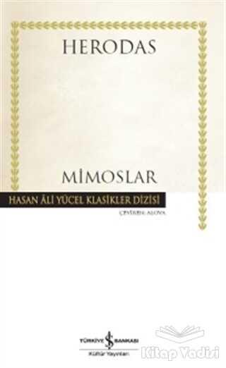 İş Bankası Kültür Yayınları - Mimoslar