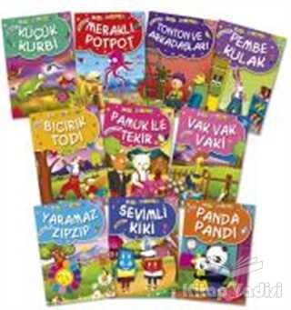 Timaş Çocuk - İlk Çocukluk - Mini Masallar 1 - 10 Kitap Takım