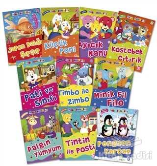 Timaş Çocuk - İlk Çocukluk - Mini Masallar 3 (10 Kitap Takım)