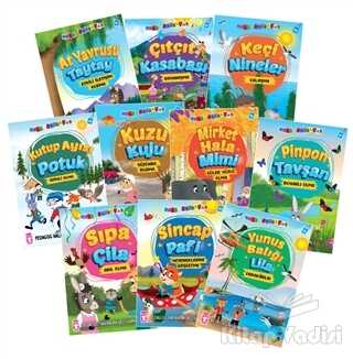 Timaş Çocuk - İlk Çocukluk - Mini Masallar 5 Seti (10 Kitap Takım)
