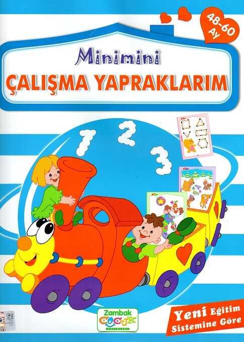 Zambak Yayınları - Minimini Çalışma Yapraklarım (48-60 Ay)