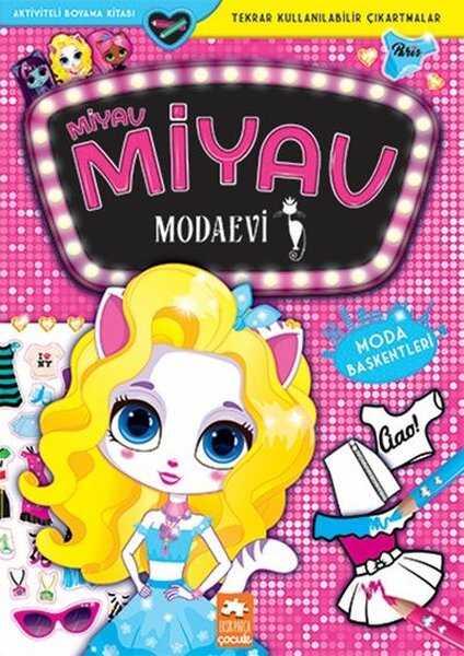 Eksik Parça Yayınları - Miyav Miyav Modaevi - Moda Başkentleri - Aktiviteli Boyama Kitabı