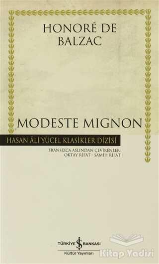 İş Bankası Kültür Yayınları - Modeste Mignon