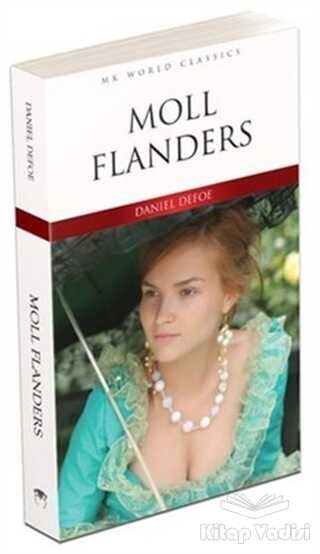 MK Publications - Roman - Moll Flanders - İngilizce Roman