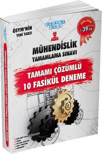 Akıllı Adam Yayınları - MÜHENDİSLİK TAMAMLAMA SINAVI TAMAMI ÇÖZÜMLÜ 10 FASİKÜL DENEME / Akıllı adam yay.