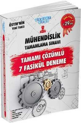 Akıllı Adam Yayınları - MÜHENDİSLİK TAMAMLAMA SINAVI TAMAMI ÇÖZÜMLÜ 7 FASİKÜL DENEME / Akıllı adam yay.