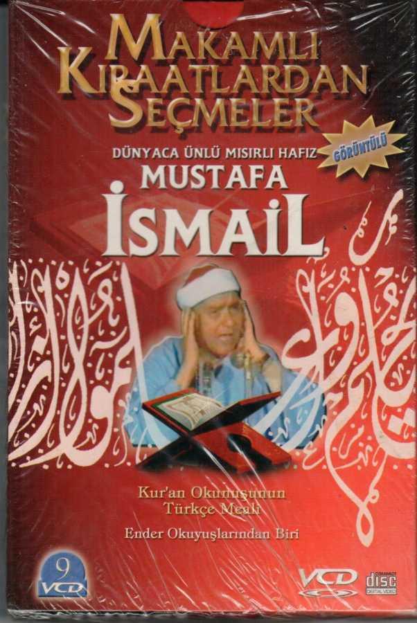 Azim Dağıtım - Mustafa İsmail-Makamlı Kıraatlardan Seçmeler (9 Vcd) Akdem