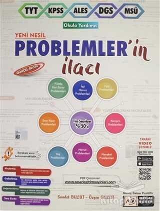 Mutlak Değer Yayıncılık - Mutlak Değer TYT - KPSS - ALES - DGS - MSÜ Yeni Nesil Problemlerin İlacı